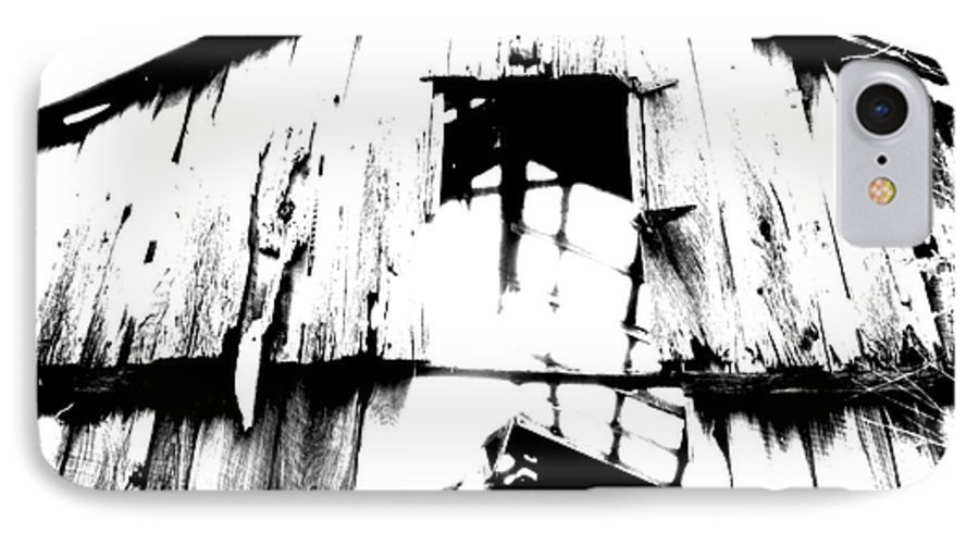 Barn IPhone 7 Case featuring the photograph Barn by Amanda Barcon