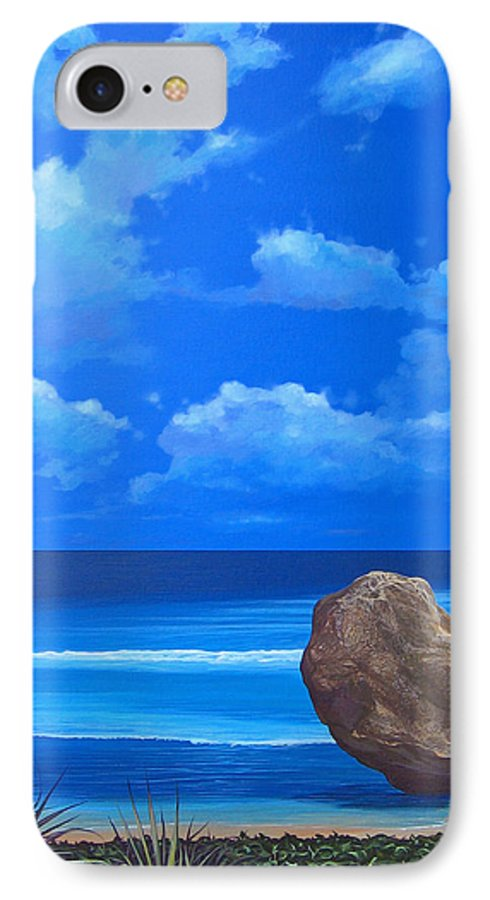 Barbados IPhone 7 Case featuring the painting Bathsheba by Hunter Jay