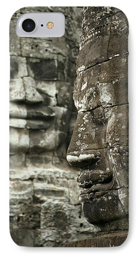 Bayon IPhone 7 Case featuring the photograph Bayonii by Patrick Klauss