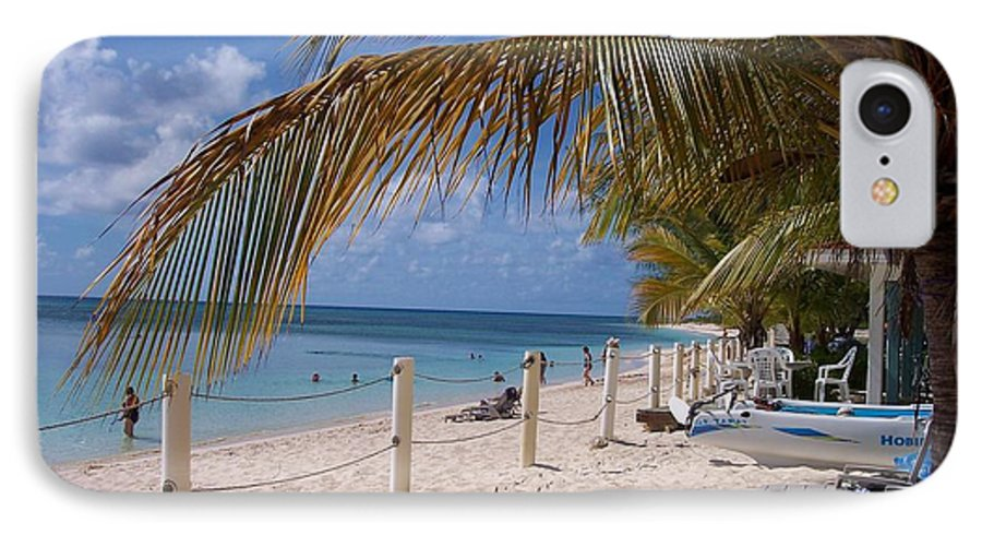 Beach IPhone 7 Case featuring the photograph Beach Grand Turk by Debbi Granruth