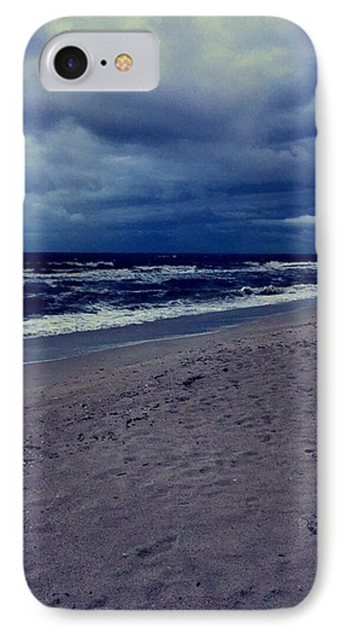 IPhone 7 Case featuring the photograph Beach by Kristina Lebron