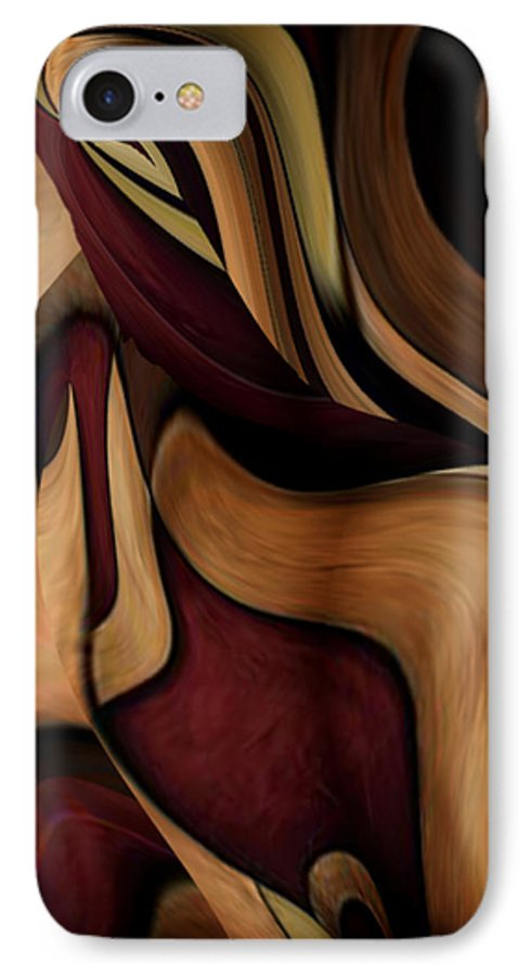Beauty Queen IPhone 7 Case featuring the painting Beauty Queen by Jill English