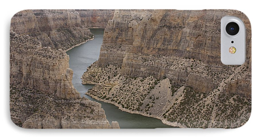 Canyon IPhone 7 Case featuring the photograph Bighorn Canyon by Idaho Scenic Images Linda Lantzy