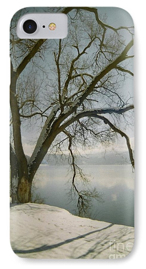 Blue IPhone 7 Case featuring the photograph Blue Dream by Idaho Scenic Images Linda Lantzy