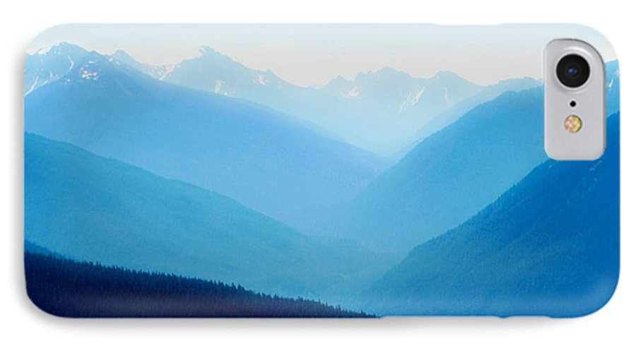Infinity IPhone 7 Case featuring the photograph Blue Infinity by Idaho Scenic Images Linda Lantzy
