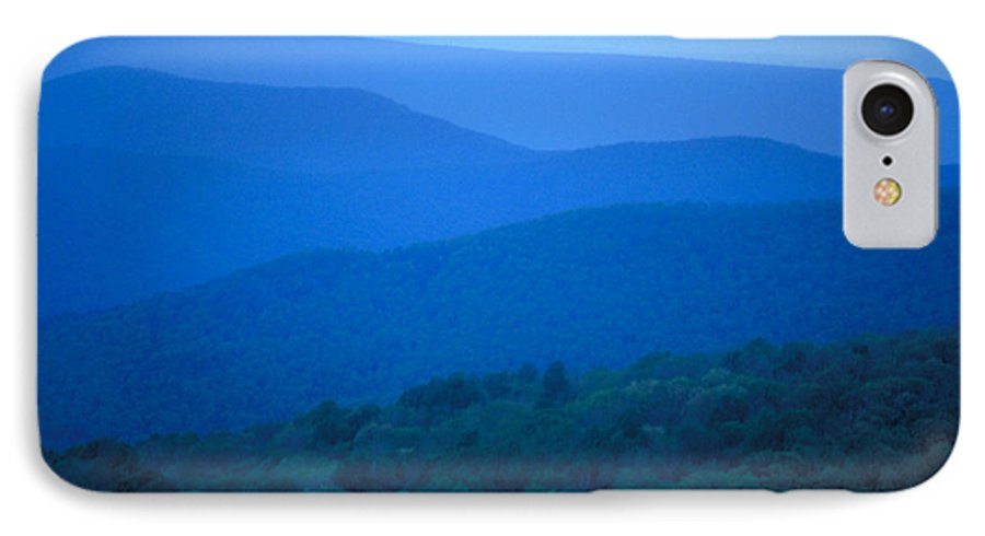 Mountains IPhone 7 Case featuring the photograph Blue Ridge Mountains by Carl Purcell