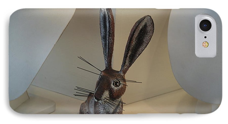 Rabbit IPhone 7 Case featuring the photograph Boink Rabbit by Rob Hans