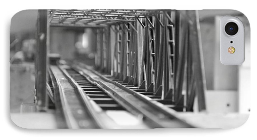 Models IPhone 7 Case featuring the photograph Bridge To Jerry Town by Margaret Fortunato