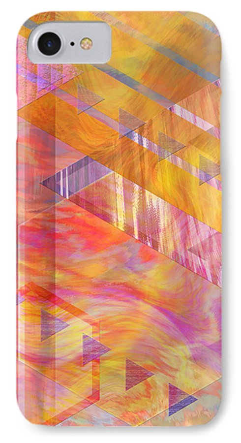 Affordable Art IPhone 7 Case featuring the digital art Bright Dawn by John Beck