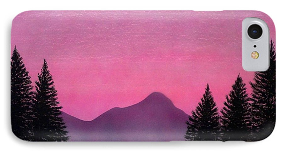 Landscape IPhone 7 Case featuring the painting Brightness by Frank Wilson