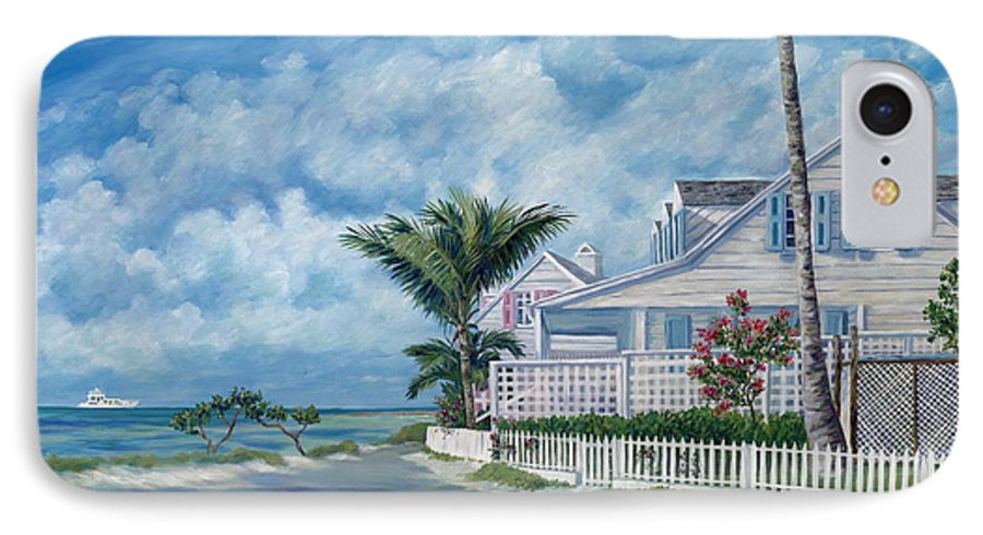 Harbor Island IPhone 7 Case featuring the painting Briland Breeze by Danielle Perry