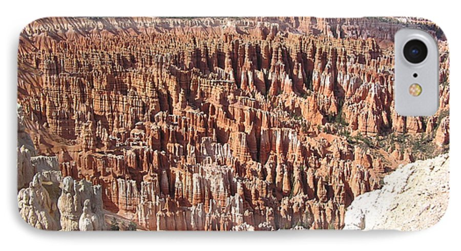 Bryce IPhone 7 Case featuring the photograph Bryce by Louise Magno