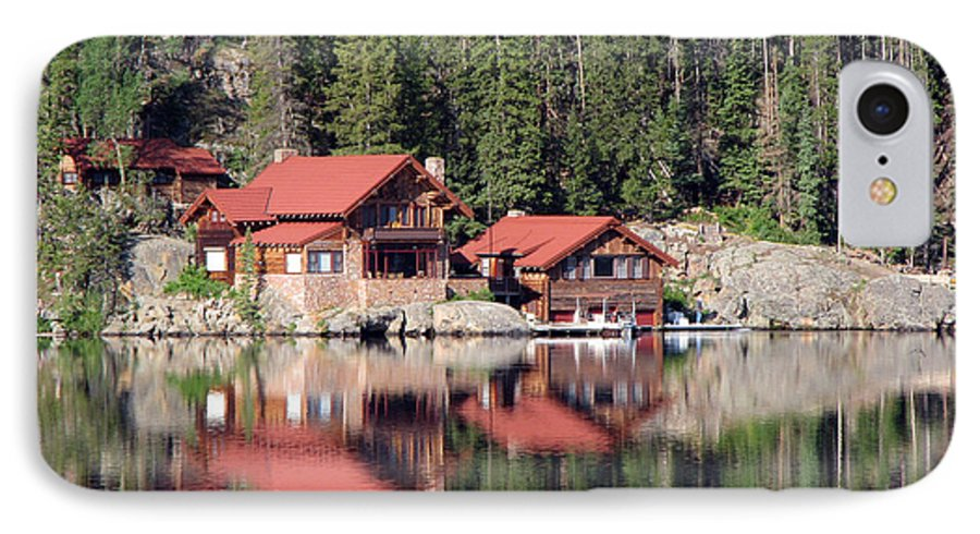 Cabin IPhone 7 Case featuring the photograph Cabin by Amanda Barcon