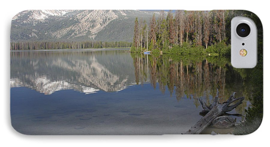 Stanley Lake IPhone 7 Case featuring the photograph Calm Before The Storm by Idaho Scenic Images Linda Lantzy