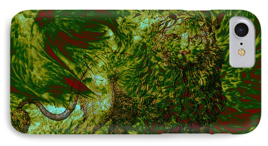 Forest IPhone 7 Case featuring the photograph Can You See Me by Evelyn Patrick