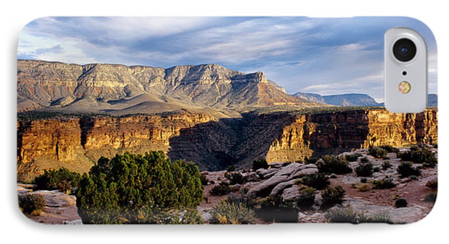 Toroweap IPhone 7 Case featuring the photograph Canyon Walls At Toroweap by Kathy McClure