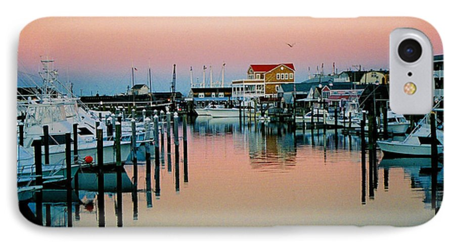 Cape May IPhone 7 Case featuring the photograph Cape May After Glow by Steve Karol
