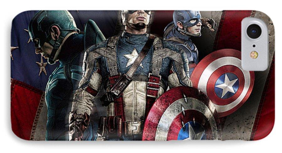 captain america iphone 7 case