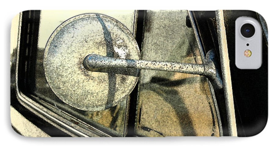 Car IPhone 7 Case featuring the photograph Car Alfresco I by Kathy Schumann