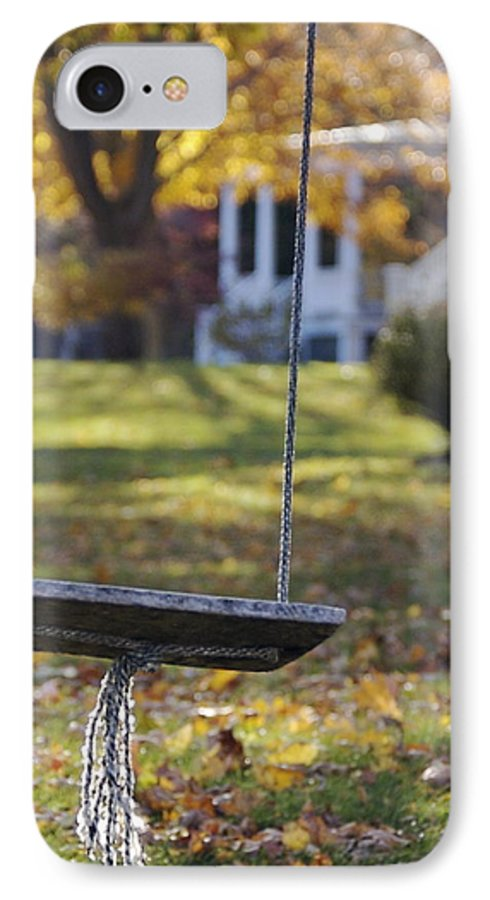 Swing IPhone 7 Case featuring the photograph Carefree by Faith Harron Boudreau