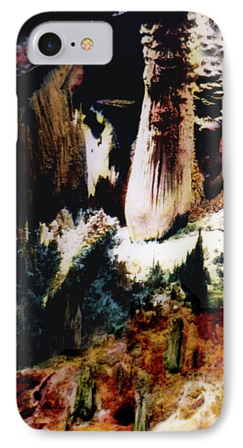Carlsbad Caverns iPhone 7 Case featuring the photograph Carlsbad Caverns by Joe Hoover