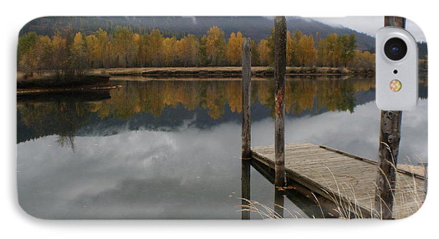 Cataldo IPhone 7 Case featuring the photograph Cataldo Reflections by Idaho Scenic Images Linda Lantzy