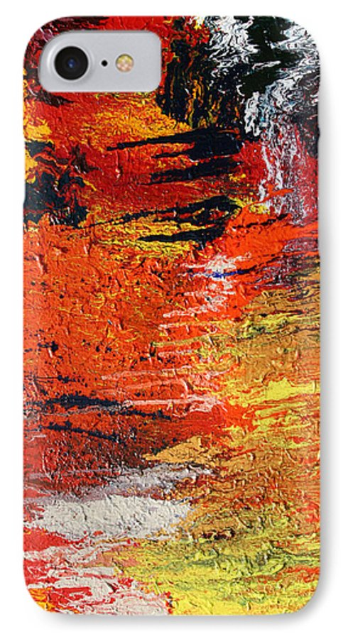 Fusionart IPhone 7 Case featuring the painting Chasm by Ralph White