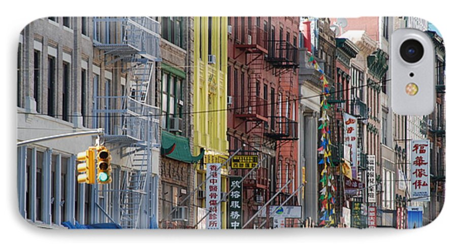 Architecture IPhone 7 Case featuring the photograph Chinatown Walk Ups by Rob Hans