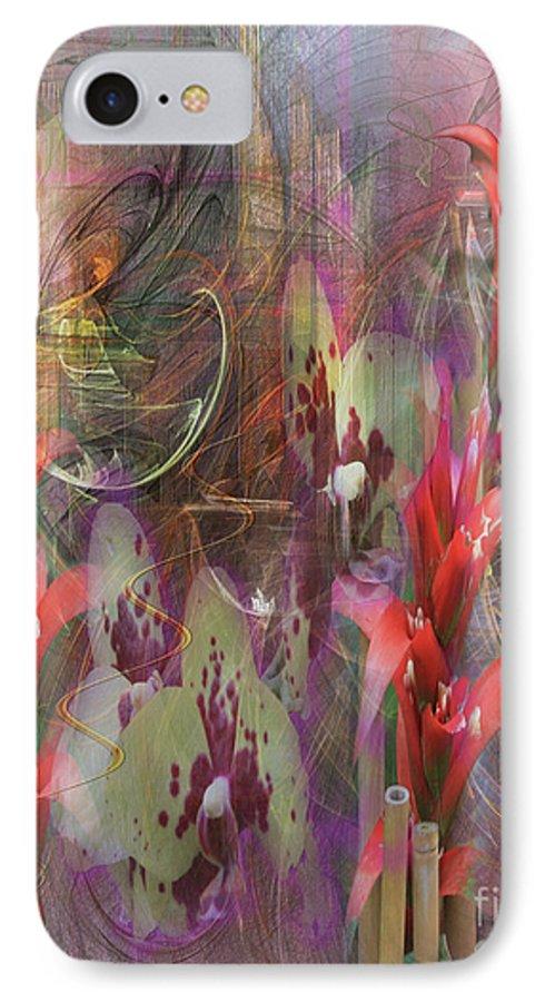 Chosen Ones IPhone 7 Case featuring the digital art Chosen Ones by John Beck