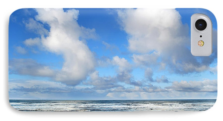 Ocean IPhone 7 Case featuring the photograph Clouds At Play by Larry Keahey