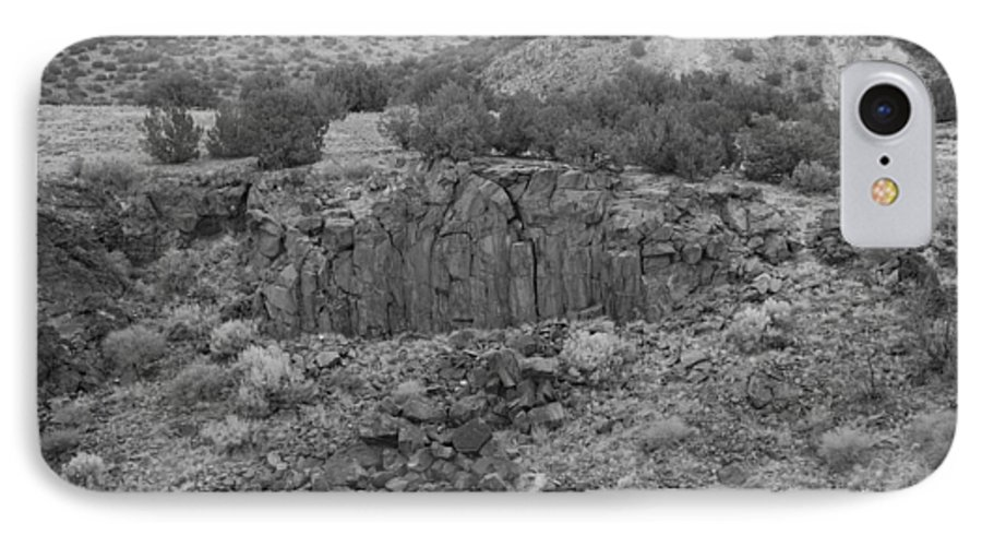Rocks IPhone 7 Case featuring the photograph Cochiti Rocks by Rob Hans