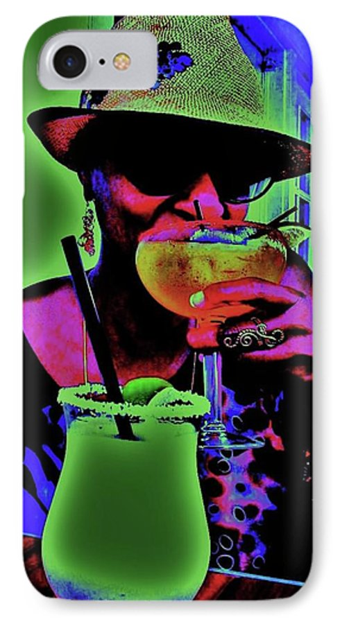 Cocktails IPhone 7 Case featuring the photograph Cocktails Anyone by Diana Dearen