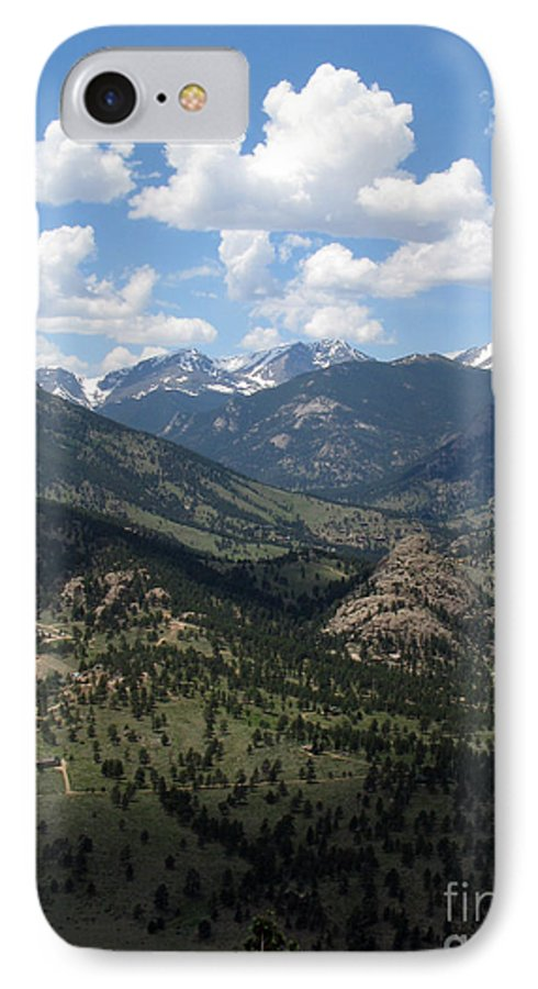 Colorado IPhone 7 Case featuring the photograph Colorado by Amanda Barcon