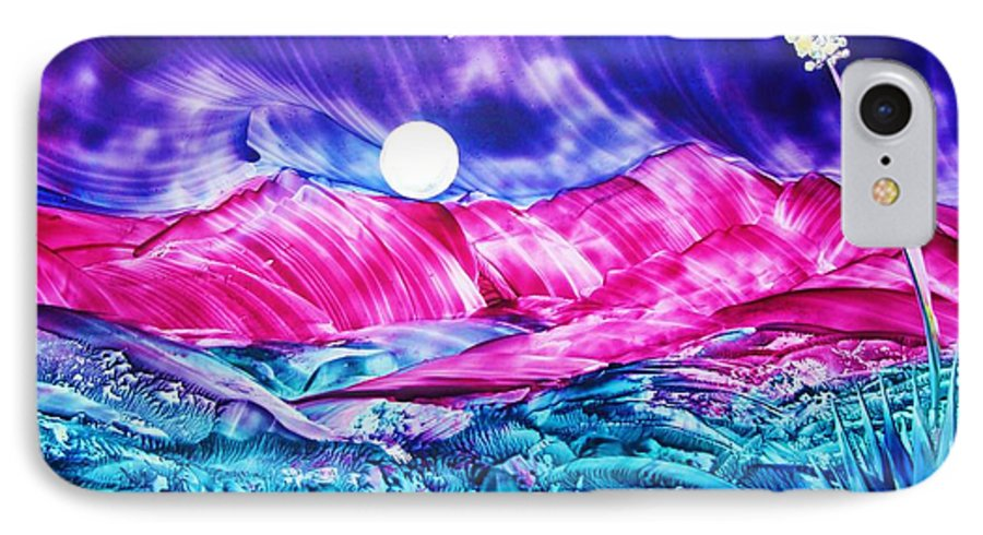 Bold IPhone 7 Case featuring the print Colorful Desert by Melinda Etzold