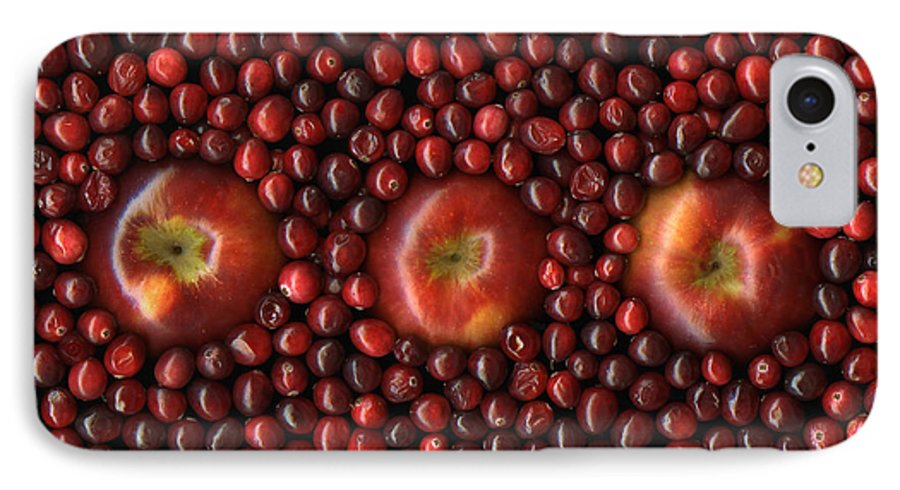 Slanec IPhone 7 Case featuring the photograph Cranapple by Christian Slanec