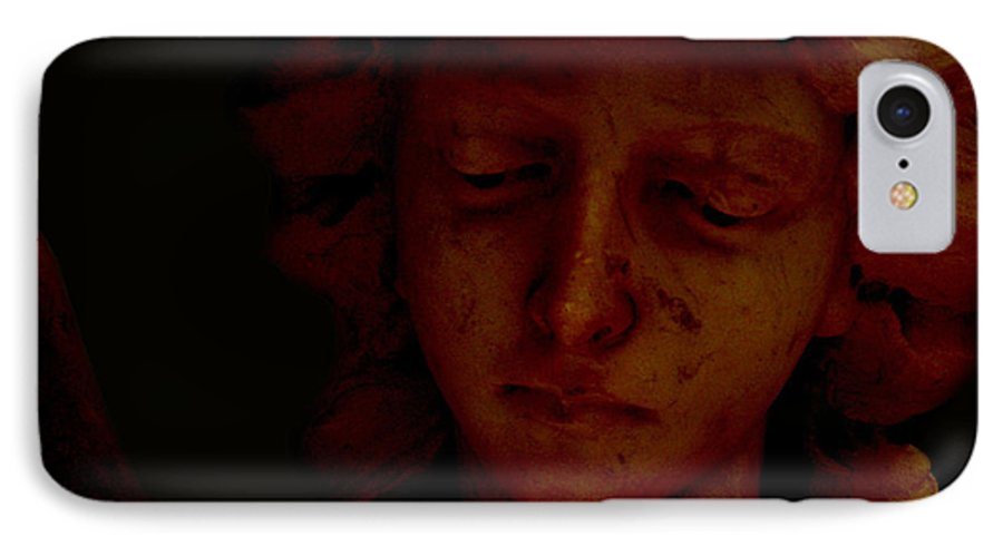 Angel IPhone 7 Case featuring the photograph Dark Angel by Ruben Flanagan