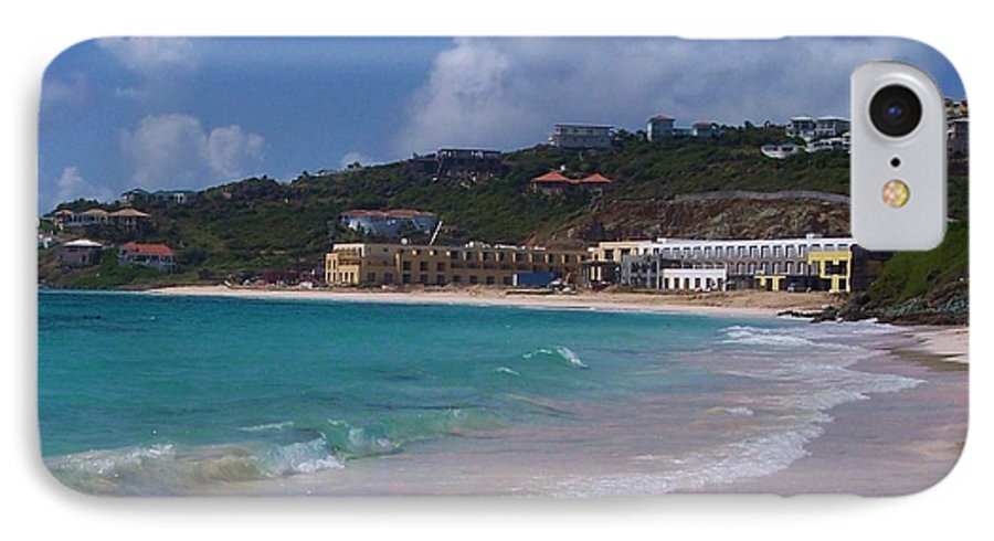 Dawn Beach IPhone 7 Case featuring the photograph Dawn Beach by Debbi Granruth