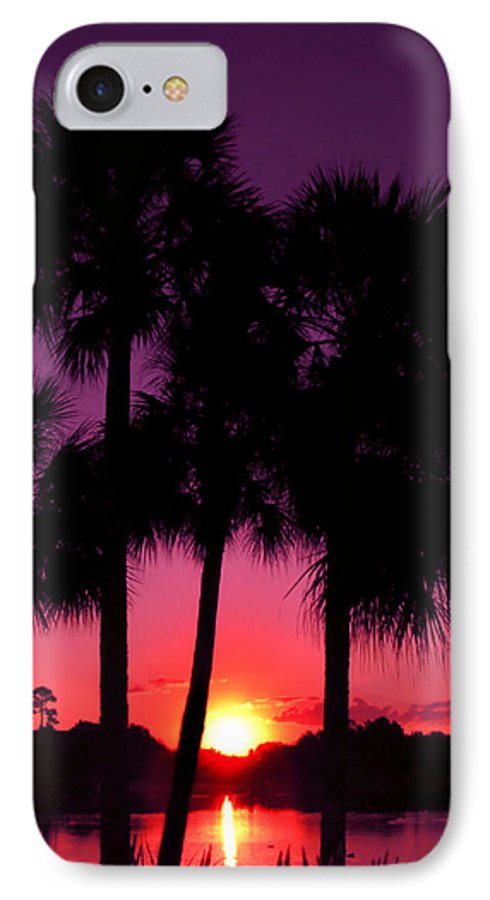 Sunrise IPhone 7 Case featuring the photograph Dawn Of Another Perfect Day by Kenneth Krolikowski