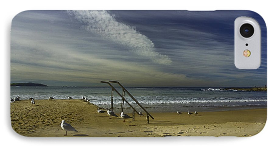 Beach IPhone 7 Case featuring the photograph Dee Why Beach Sydney by Sheila Smart Fine Art Photography