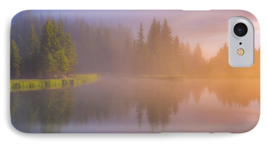 Foggy IPhone 7 Case featuring the photograph Deep Breath by Darren White