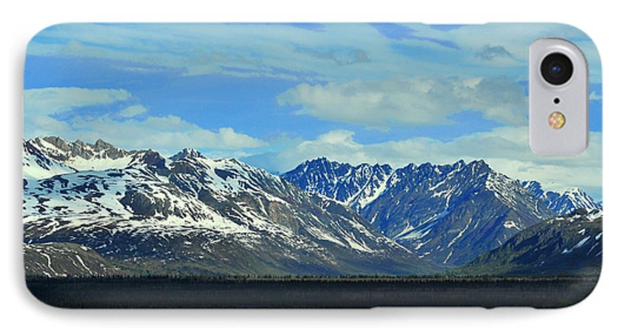 Denali IPhone 7 Case featuring the photograph Denali Valley by Keith Gondron