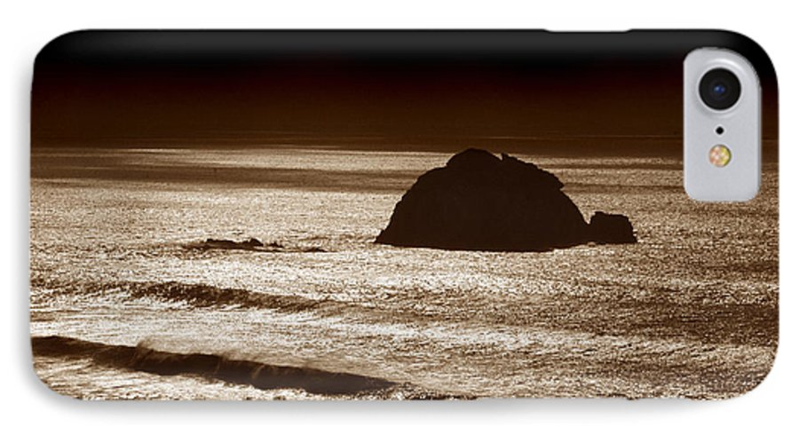 Big Sur IPhone 7 Case featuring the photograph Drama On Big Sur by Michael Ziegler