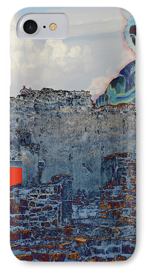 Tulum Ruins IPhone 7 Case featuring the photograph Dream Of Tulum Ruins by Ann Tracy