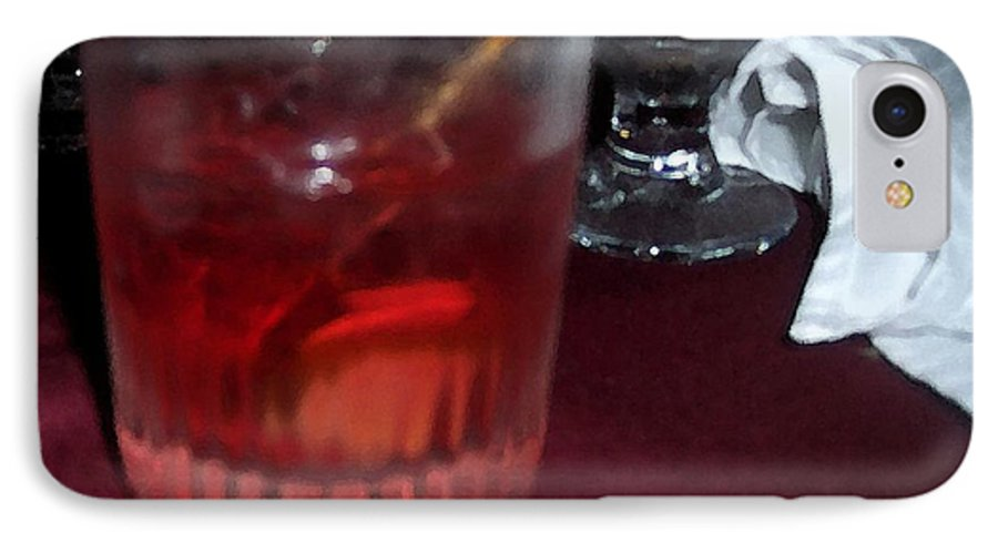 Drinks IPhone 7 Case featuring the photograph Drink Up by Debbi Granruth