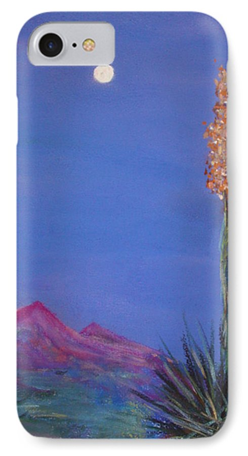 Evening IPhone 7 Case featuring the painting Dusk by Melinda Etzold