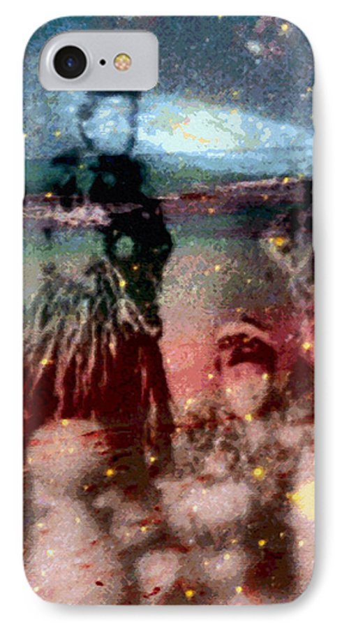 Tropical Interior Design IPhone 7 Case featuring the photograph E Ola Ana No by Kenneth Grzesik