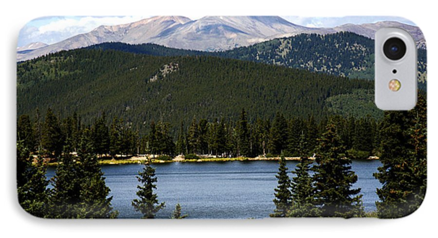 Colorado IPhone 7 Case featuring the photograph Echo Lake Colorado by Marilyn Hunt