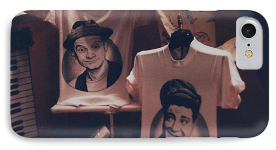 The Honeymooners IPhone 7 Case featuring the photograph Ed And Ralphie Boy by Rob Hans