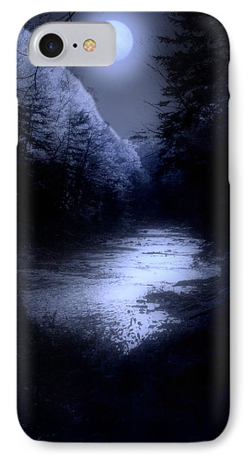 Moon IPhone 7 Case featuring the photograph Eerie Tranquility by Kenneth Krolikowski