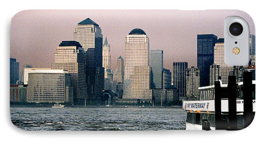 New York IPhone 7 Case featuring the photograph Empty Sky by Steve Karol